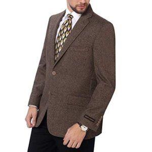 Other - Men's Premium Wool Blend Business Blazer Dress